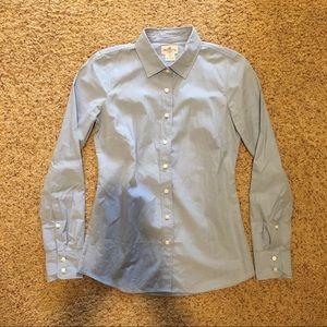 J Crew poplin button down shirt